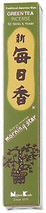 Nippon-Kodo-Morning-Star-Incienso-Japones-The-Verde-50-Varillas-Incienso