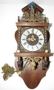 Dutch Zaanse Zaandam Atlas Wall Clock