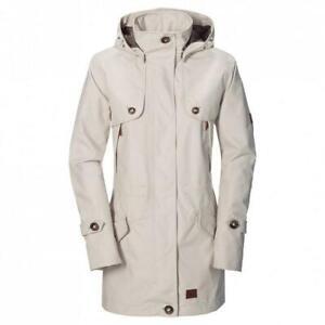 Jack Wolfskin Ladies Queenstown Coat White Sand