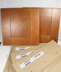 "IKEA Grimslov Medium Brown Glass Door 15x30 /"" 15/""X30/"" Grimslöv 15X30/"" 102.681.83"