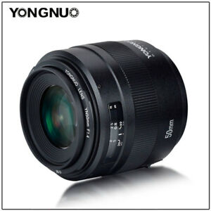 YONGNUO-YN-EF-50MM-F-1-4-Auto-amp-manual-Focus-Lens-For-Canon-EF-Mount-EOS-Camera