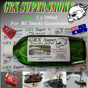 Model-Boat-Tank-Trains-Trucks-GRX-Super-Smoker-Fluid-500-ml-V4-S2-Super-Smokers