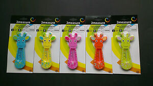 Badethermometer-Babythermometer-Thermometer-Badewanne-tolle-Farben