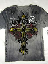 Raw State MMA fight Culpa Mea Premium men's charcoal gray T shirt size LARGE