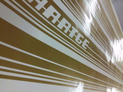 BMW 5 series e34 Hartge Style Decals