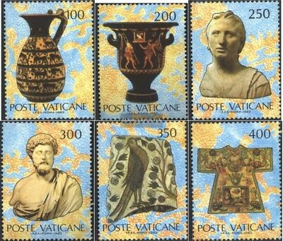 Postfrisch 1983 Kunstwerke FleißIg Vatikanstaat 820-825 kompl.ausg.