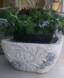 Pot de fleurs Valo Bac à plantes shabby chic NOSTALGIE Décoration ...