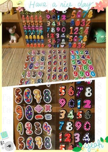 3D Digital teaching stickers Scrapbooking/&Paper Crafs Stickers lot-Reward sticke
