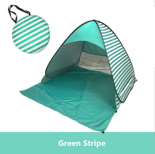Automatic Beach Tent Sun Shelter Cabana Outdoor Camping 2-3Person Anti-UV