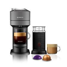Nespresso Vertuo Next Dark Grey Coffee Machine & Aeroccino3 Milk Frother