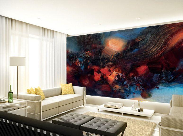 3D stella 16777 Parete Murale Foto Carta da parati immagine sfondo muro stampa