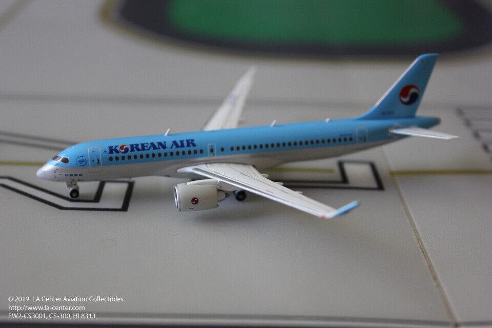 grandes precios de descuento Jc Wings Korean Air Airbus A220-300 CS300 Diecast Modelo 1 1 1 400  Precio al por mayor y calidad confiable.