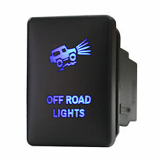 Push switch 929B 12volt Toyota OFF ROAD LIGHTS Tundra Tacoma RAV4 LED BLUE 3A