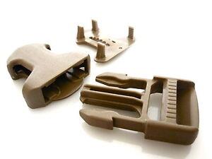 """1""""/25mm itw nexus coyote tan 3 pièces montage en surface boucle-militaire grade  </span>"""