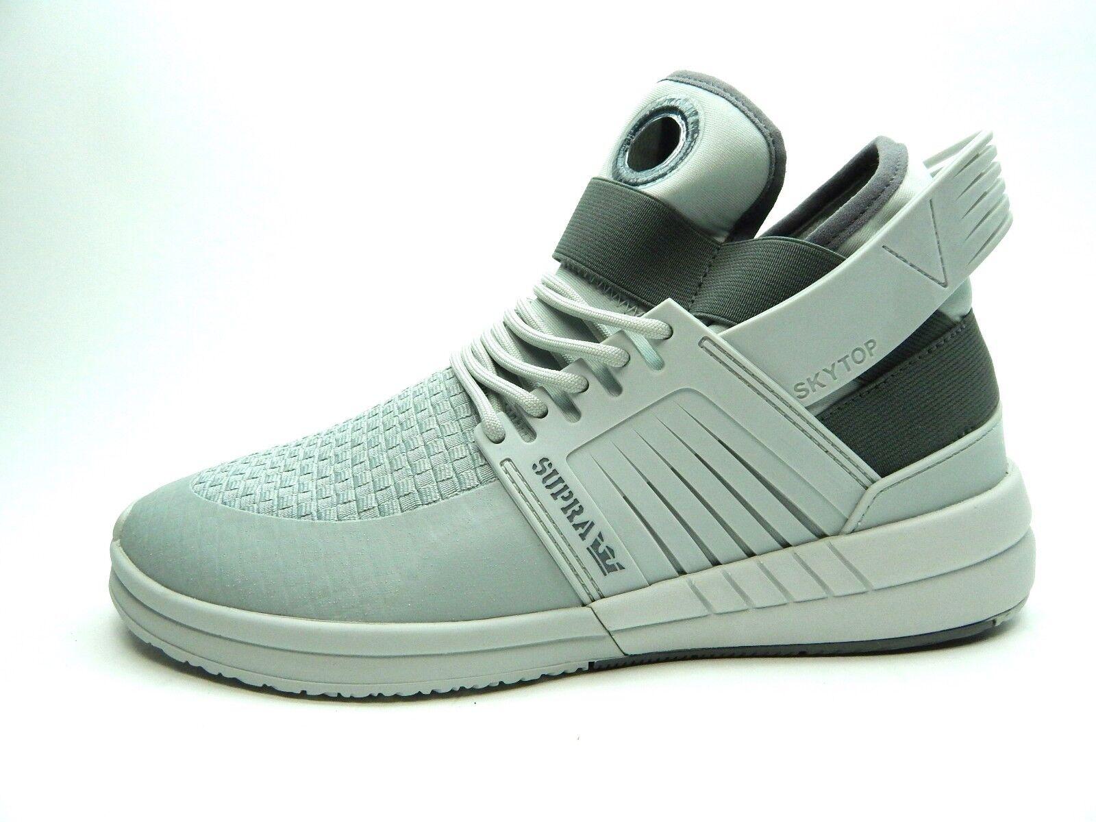 Supra Skytop V Cool gris hueso 08032-052 hombres zapatos a 14