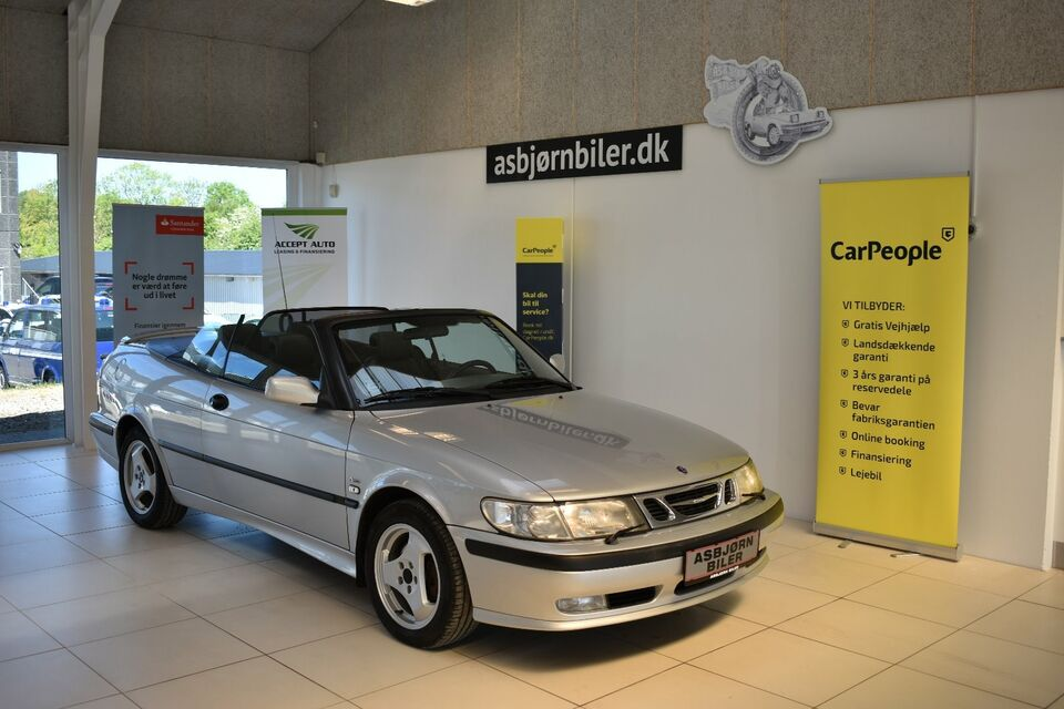 Saab 9-3 2,0 Turbo 200 SE Cabriolet Benzin modelår 1999 km
