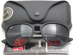 9385fe495aa Ray Ban Erika RB4171F 622 8G 54-18 Black Frame Gray Gradient Lens RB