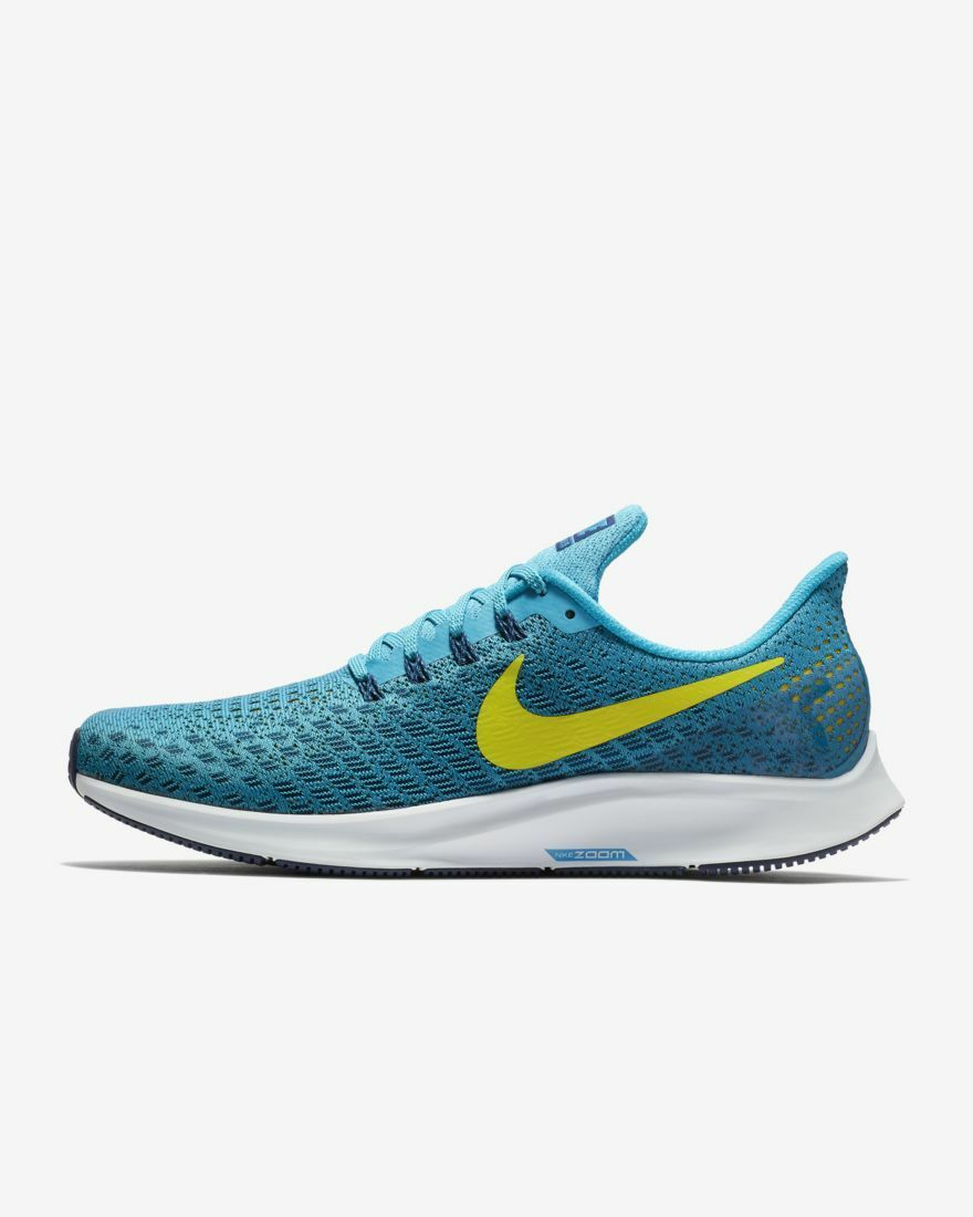 Nike Air Zoom Pegasus 35 Men's Running shoes bluee Flywire NEW US 10.0