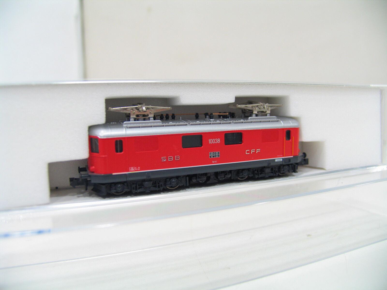 Kato 10038 E-LOK Re 4 4 red SBB lk878