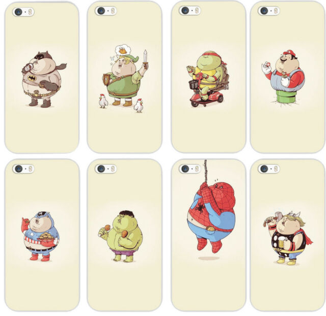 New Arrival Funny Cartoon Cute Phone Case Cover Skin For iPhone 4/5/5s/5c/6/6p