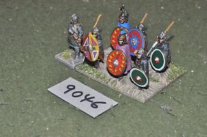 25mm-era-ROMAN-ROMANO-Late-Guerrieri-7-Fichi-in-metallo-verniciato-INF-9046