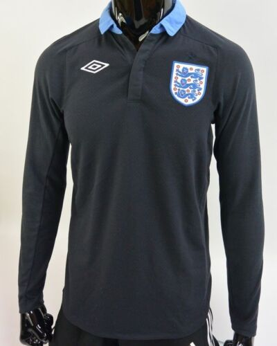 201213 UMBRO England Long Sleeve Away Football Shirt SIZE 38M adults