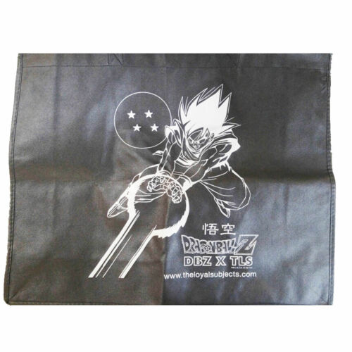 Loyal Subjects Dragon Ball Z Goku Shopper Tote NEW DBZ Exclusive Bag 16x20
