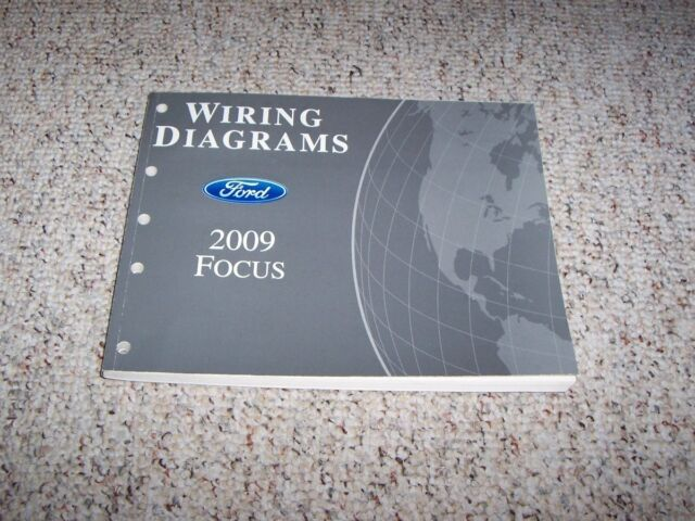 2009 Ford Focus Electrical Wiring Diagram Manual S Se Ses