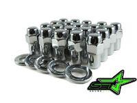25pc 7/16 Chrome Mag Wheel Lug Nuts .75 Shank | Buick Pontiac Keystone Chevy