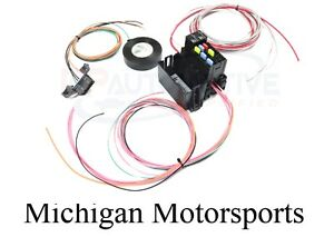 LS Swap Wire Harness Fuse Block Stand alone Wiring Harness ... Obd Wiring Harness on