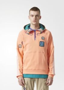 f73f05c0b99 Image is loading adidas-x-Pharrell-Williams-HU-Hiking-Hoodie-Large-