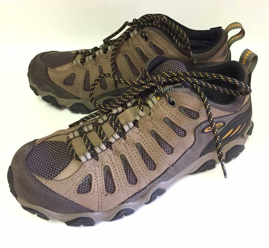Oboz Sawtooth Low BDRY Men's Hiking shoes - WALNUT Size 9.5 - New In Box