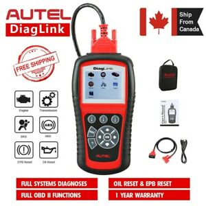 Autel Diaglink OBD2 Car Code Reader All Systems Diagnostic ABS SRS Oil EPB MD802