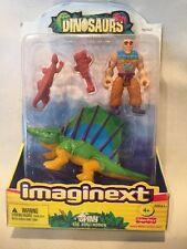 B14) RETIRED Fisher Price Imaginext Dinosaur SPINY The Dimetrodon New 2004