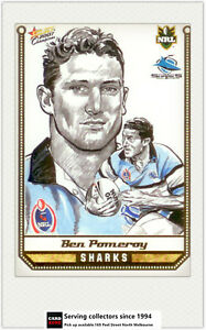 2007-Select-NRL-Champions-Sketch-Card-SK8-Ben-Pomeroy-Sharks