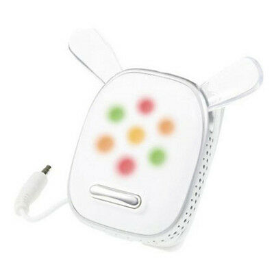 i-Dog Clip Music Speaker Player Clip-On Lights Up Mood Flashing Out And About