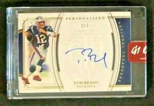 TOM-BRADY-2019-NATIONAL-TREASURES-PERSONALIZED-SIGNATURES-AUTO-ON-CARD-3-GOAT