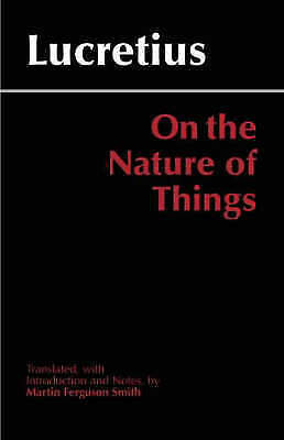 1 of 1 - On the Nature of Things (Hackett Classics), 0872205878, Very Good Book