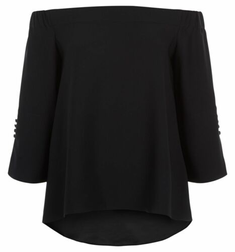 Hobbs Perla Black Blouse RRP £99. Various Sizes