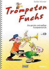 Tromba voti scuola: trombe Volpe volume 2 con CD scuola trombe (Dünser)