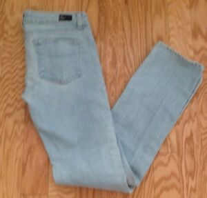 Paige Jeans taille clair 'blue Heights' basse bleu coupe taille 30 skinny TPw4xfrTpq