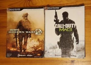 Lot-of-2-Call-of-Duty-Modern-Warfare-2-and-3-Brady-Games-Guides-Xbox-PS3-PC