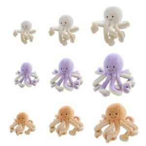 Octopus Plush Toy Octopus Dolls  Stuffed Toys Plush Animal Toys Kids Perfect