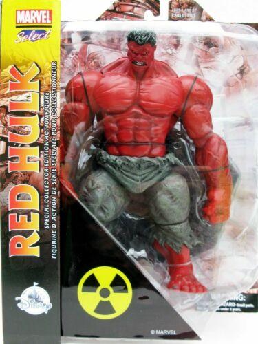 Disney Negozio Marvel selezionare Rosso HULK SPECIAL COLLECTOR/'S Action Figure Marvel