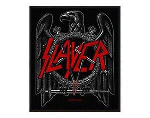SLAYER-black-eagle-WOVEN-SEW-ON-PATCH-official-merchandise