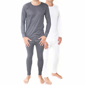 Gaffer Boys Thermal Bottom Underwear Long Sleeve Vest Kids Thermal Long Johns