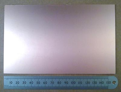 Fr4 100 X 160 Mm sola cara de cobre revestido placa de circuito de fibra de vidrio PCB material