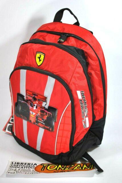 Zaino Scuderia Ferrari, Formula 1, Backpack school