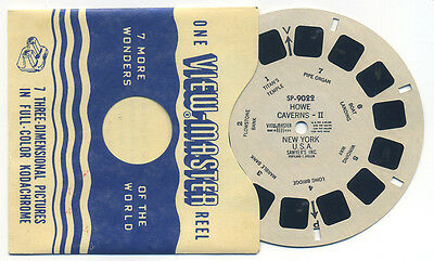 Sammeln & Seltenes Hearty Sp-9022 Wie Caverns Ii New York 591ms Säger View-master Sp Spule