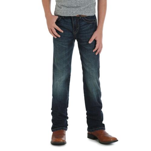 44BWXDN Wrangler 20X Boys Slim Fit Straight Leg Jean Boot Cut 1T-7 NEW